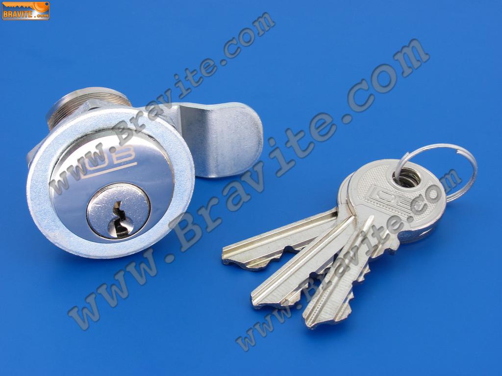 Мебелна ключалка с изкривен палец