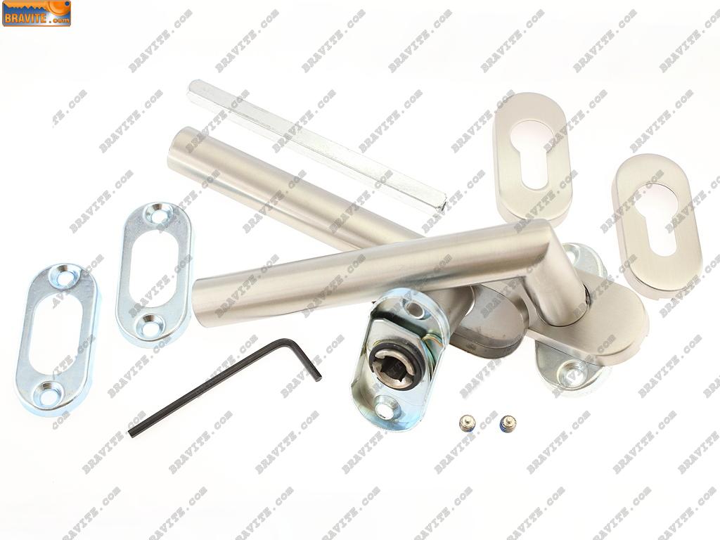 Дръжки за алуминиев и PVC профил Дорма