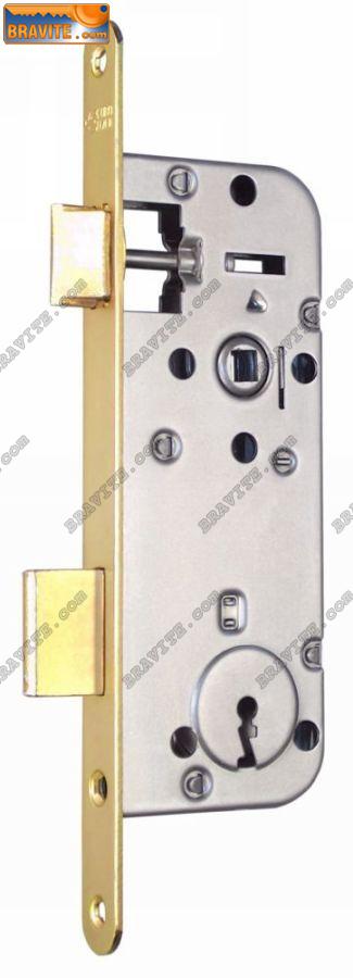 брава с обикновен ключ