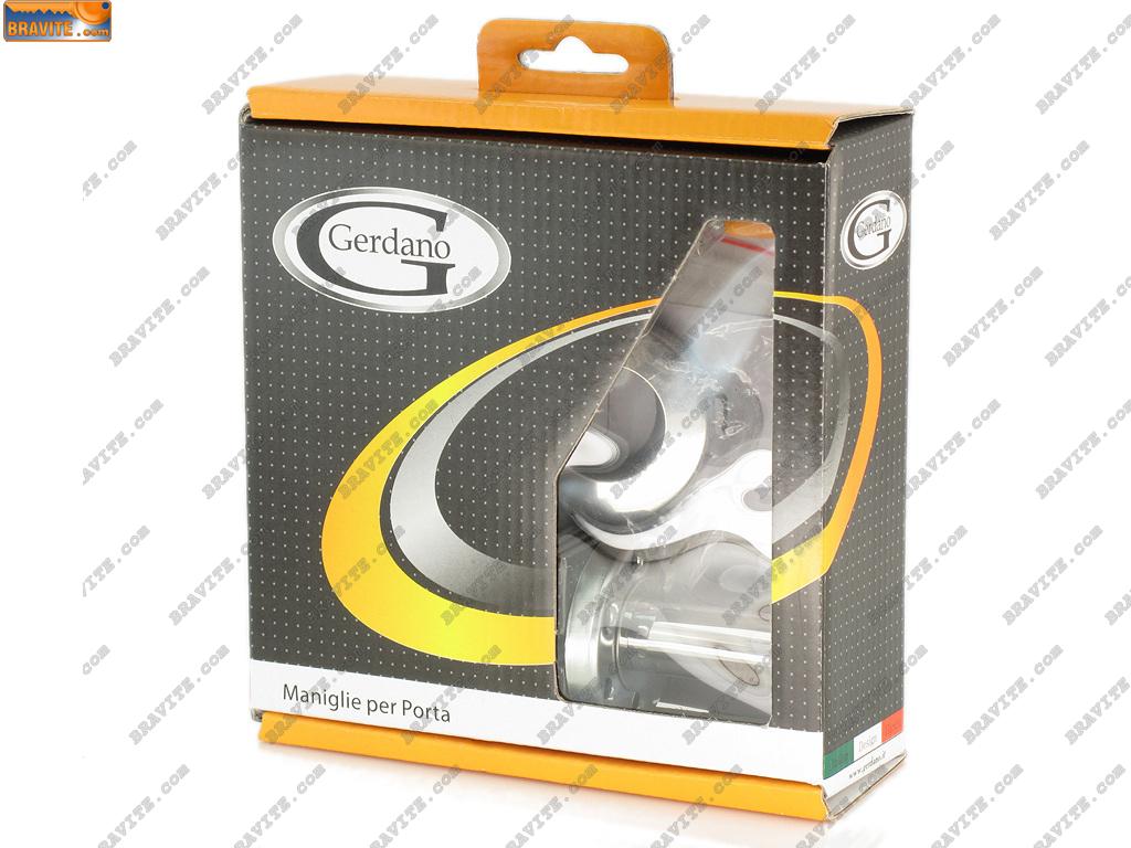 Дръжки за врати модел L 5046 AL цвят никел покритие хром