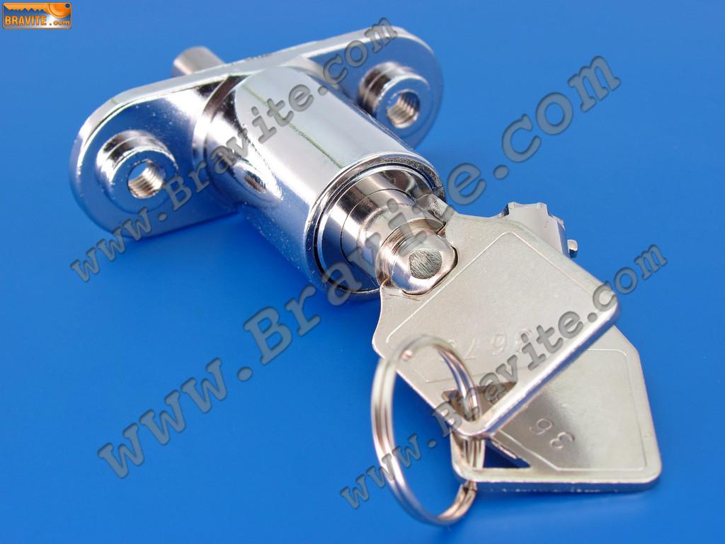 мебелна ключалка с пуш бутон